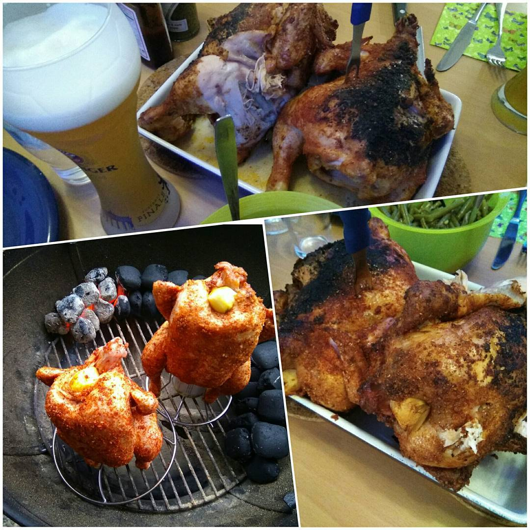 Beer Can Chicken, supersaftig, superzart, supergeil