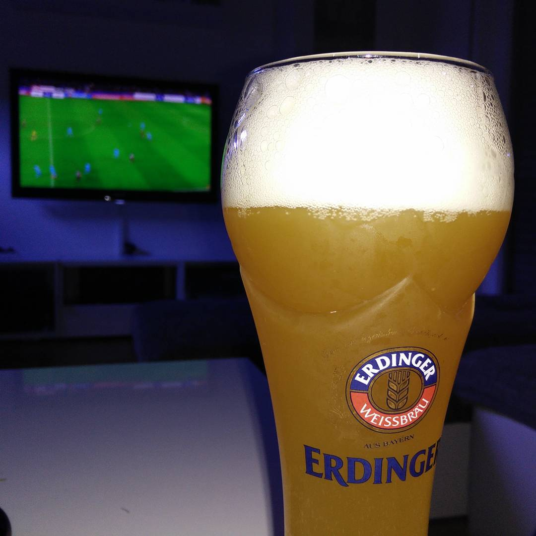 ChampionsLeague evening with Erdinger Weißbier