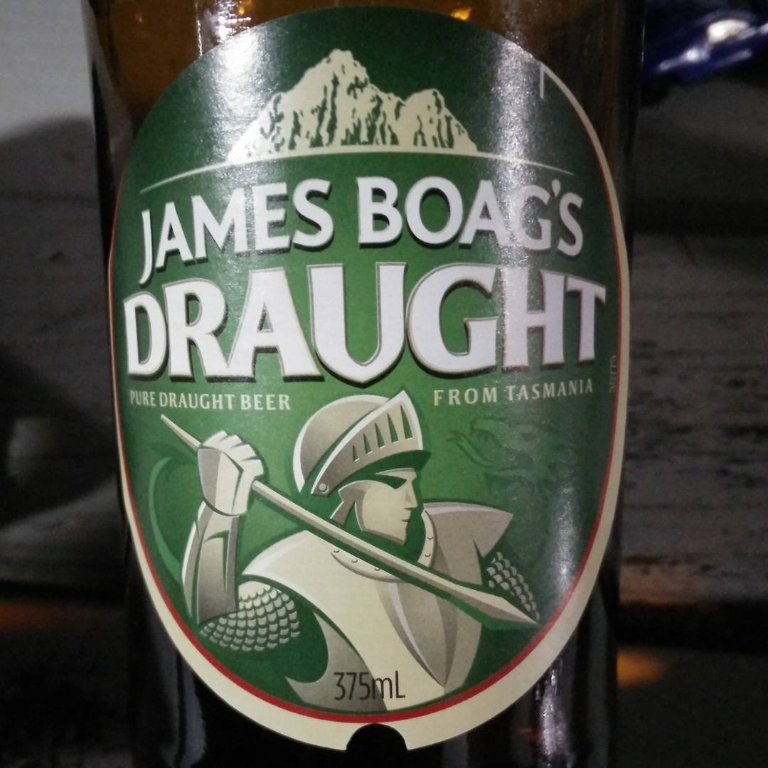 James Boag's Draught Tasmanian Beer