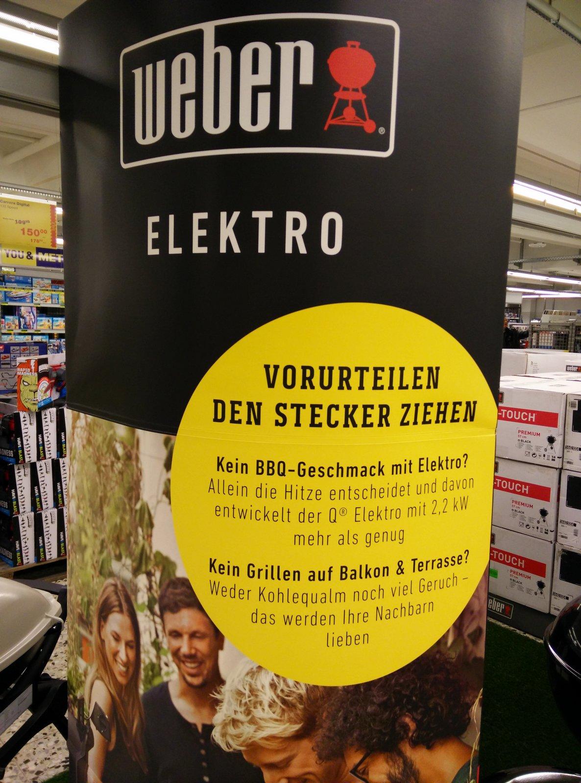 Elektro Weber bei Metro Esslingen