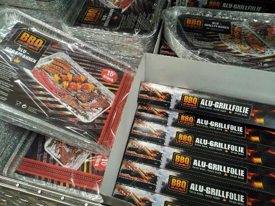 Aldi Fail - BBQ Alu-Grillfolie