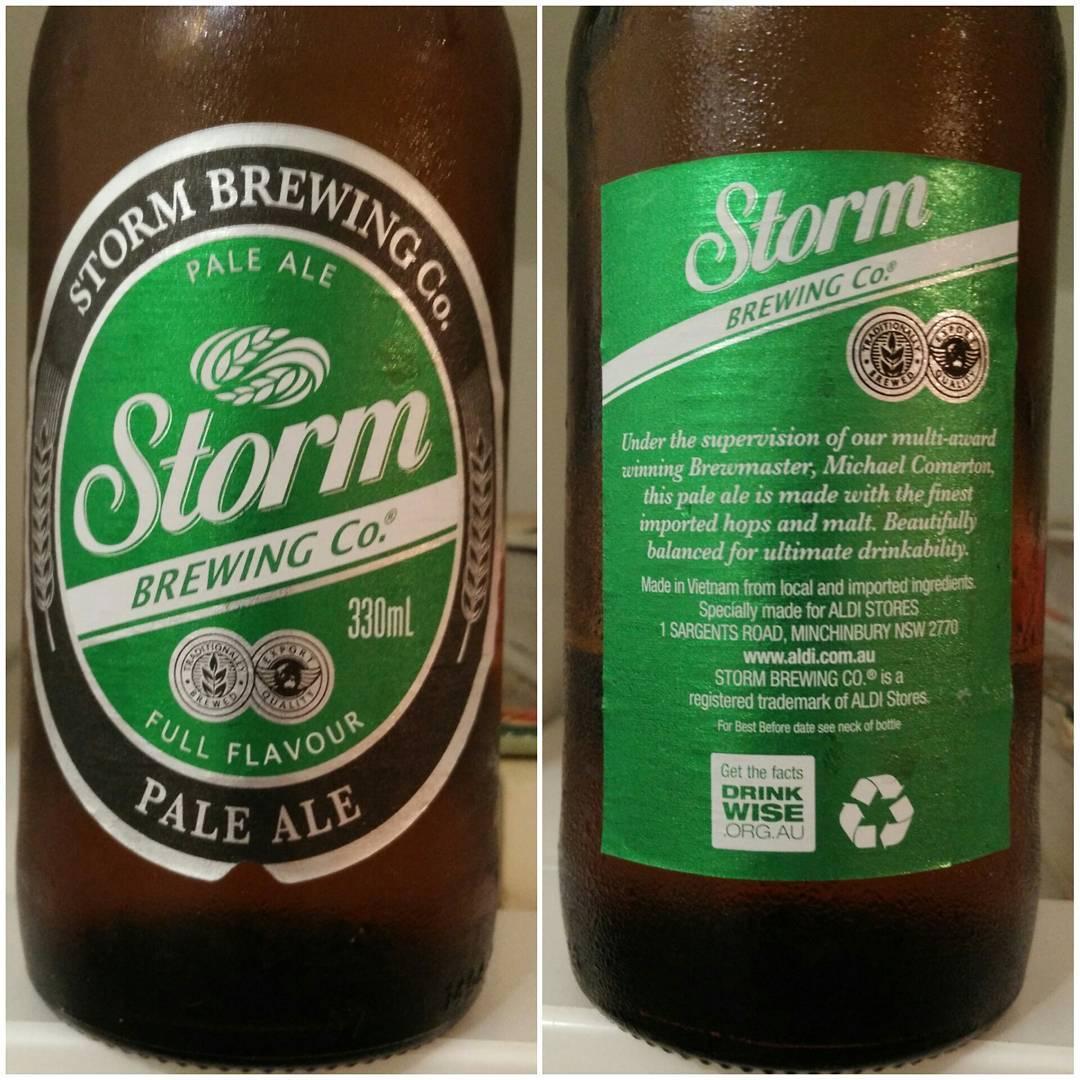 Storm Pale Ale von Aldi Australia